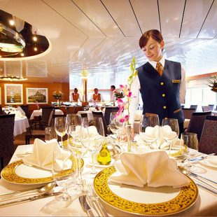 ms hanseatic restaurant